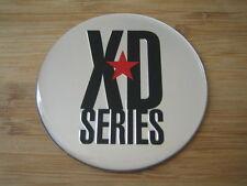 """KMC XD Series Monster 778 Chrome/Silver Logo Sticker Only 3 1/16""""Diameter"""