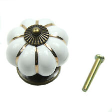 New Kitchen Pumpkins Knobs Handles Pull Drawer Ceramic Door Cabinets Cupboards