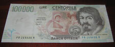 Banconote Europa/Italia Banca D'Italia 100000 Lire Centomila