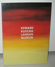 NEW Edward Ed Ruscha Lannan Museum Words Without Thoughts Never to Heaven Go PB