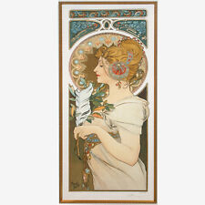 """""""QUILL"""" by ALPHONSE MUCHA, Print Signed and Numbered"""