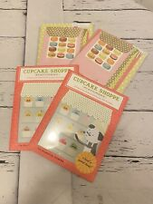 macaroon and cupcake stationery sets lotnof 4 new
