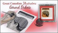 Ca18-034, 2018, Great Canadian Illustrators, Pictorial, Fdc, Gerard Dubois