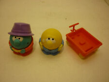 Vintage 1985 Parker Brothers Nerfuls Bart Ball Toy Frankie & Wagon