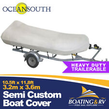 3.2 - 3.6 m Trailerable Inflatable Boat Cover | OceanSouth True 600 Denier Cover
