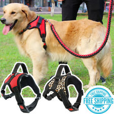 New listing No-Pull Dog Pet Harness Adjustable Control Vest Dogs Reflective Leash M / L Size