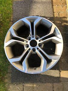1 x Gen Original BMW X3 X4 F25 F26 Alloy wheel Style 607 6862889 8Jx18 IS43
