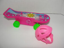 Barbie Doll  Stacie Awesome Skateboard Spring action really Moves 1998