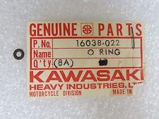 Kawasaki NOS NEW  16038-022 O Ring KX KZ KDX KLF KLT KLX ZN ZX 1976-2008