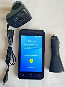 Alcatel Pixi 4 4034X Black Unlocked Android Smartphone fully working