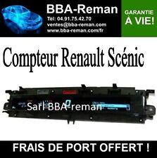 Réparation - Compteur Renault Scenic- Tous types garantie à vie