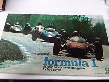 Vintage 1962 Waddingtons Formula 1 Racing Game VGC