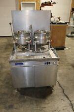 Cleveland Dual 6 Gallon Tilt Kettles  Steam Jacketed Gas w/ Generator Base