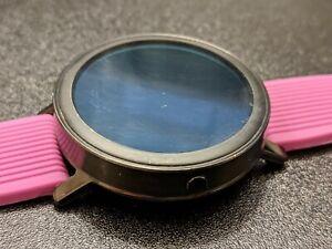 Misfit Vapor WearOS Smartwatch 44mm Black w/ Purple Sport Strap MIS7000