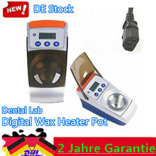 Dental Wax Heater Dipping Pot Waxer Portable Analog Heater Digital LED Display