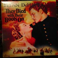 They Died With Their Boots On - Black & White  Laserdisc Buy 6 for free shipping