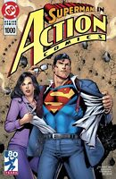 SUPERMAN DC ACTION COMICS #1000 JUNE 2018 DAN JURGENS 1990'S  VARIANT COVER