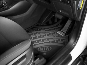 Genuine Kia Sorento UM Rubber Floor Mat Set 2015-Current