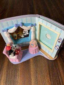 "Disney Mickey & Friends Minnie Pluto Windowsill Picture Photo 3 1/2"" x 5"" Frame"