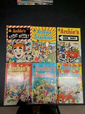 Archie's Comic Book Lot of 6  1973 to 1975