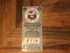 VINTAGE CAESAR'S PALACE GRAND PRIX Reserved Silver Section TICKET STUB  1982