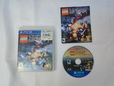 Lego The Hobbit Sony PlayStation 3 Tested Guaranteed Case Cover Art Game Disc