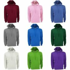 Polycotton Hooded Plain Sweatshirts for Men