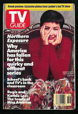 JANINE TURNER Nothern Exposure 1991 TV Guide Small Format No Address Label
