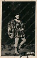 AUTOGRAFO su fotografia Renato CIONI in Rigoletto Tenore Cantante Lirica