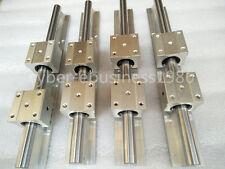 4 sets SBR20-1500mm Liner rail Guide  & 8 pcs SBR20UU block bearing