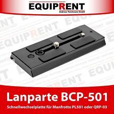 Lanparte BCP-501 120mm Schnellwechselplatte für Manfrotto 501PL / QRP-03 (EQC38)