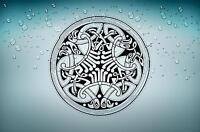 Sticker aufkleber tuning keltisch celtic wikinger kreuz jdm bomb keltisches r10