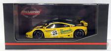 Voitures de courses miniatures jaunes pour McLaren 1:43