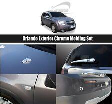 SAFE Exterior Chrome Molding Set 11Pcs For Chevrolet Orlando 2011 2016