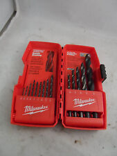 Milwaukee Thunderbolt Tapered Web Drill Bits in hard case
