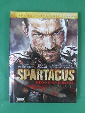 SPARTACUS  Blood And Sand  Complete 1st Season  4 DVDs  Starz 2010