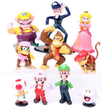 10pcs Super Mario Bros 3-6cm Action Figure Doll Playset Figurine Kids Toy Gift