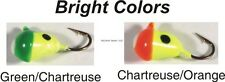 12 New HT Marmooska Ice Fishing Jig #10 Bright Colors 12Cd MJ-10B