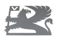 Genuine New Anthracite VAUXHALL GRIFFIN DECAL Emblem Logo for Nova SRi Astra GTE