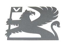 Original Anthrazit Opel Griffin Emblem Aufkleber Logo für Nova Sri Opel Garantie