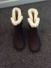 Ugg Australia Akadia In Brown Leather Size 39 Eu New Without Box