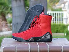 Nike Kobe IX High KRM EXT QS Challenge Red 716993-600 SZ 11.5