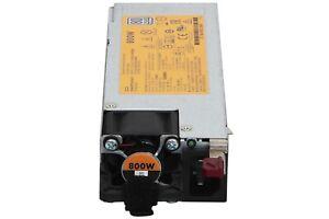 HP Netzteil 800W PSU Server DL360 DL380 ML350 Gen9 // HPE 754381-001, 720479-B21