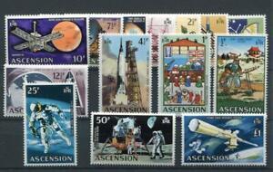Ascension 1971 Evolution of Space Travel set MNH SG135/48