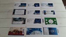Lot 12 Photos Ticket Billet 12 Matches carrière Cristiano Ronaldo Portugal euro