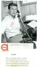 GARY LOCKWOOD ON THE PHONE FOLLOW THE SUN ORIGINAL 1961 ABC TV PHOTO