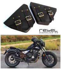 HONDA REBEL CMX 500 300 2017 SADDLE BAG SIDE FRAME COVER FAIRING GENUINE LEATHER