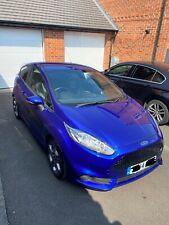 Ford Fiesta ST-3 2014 Blue ST 3