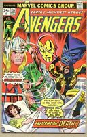 Avengers #139-1975 fn+ 6.5 Gil Kane / Wasp in a Coma