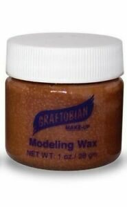 GRAFTOBIAN MODELING WAX_SPECIAL EFFECTS STAGE THEATRICAL MAKEUP_1OZ PICK ANY 1